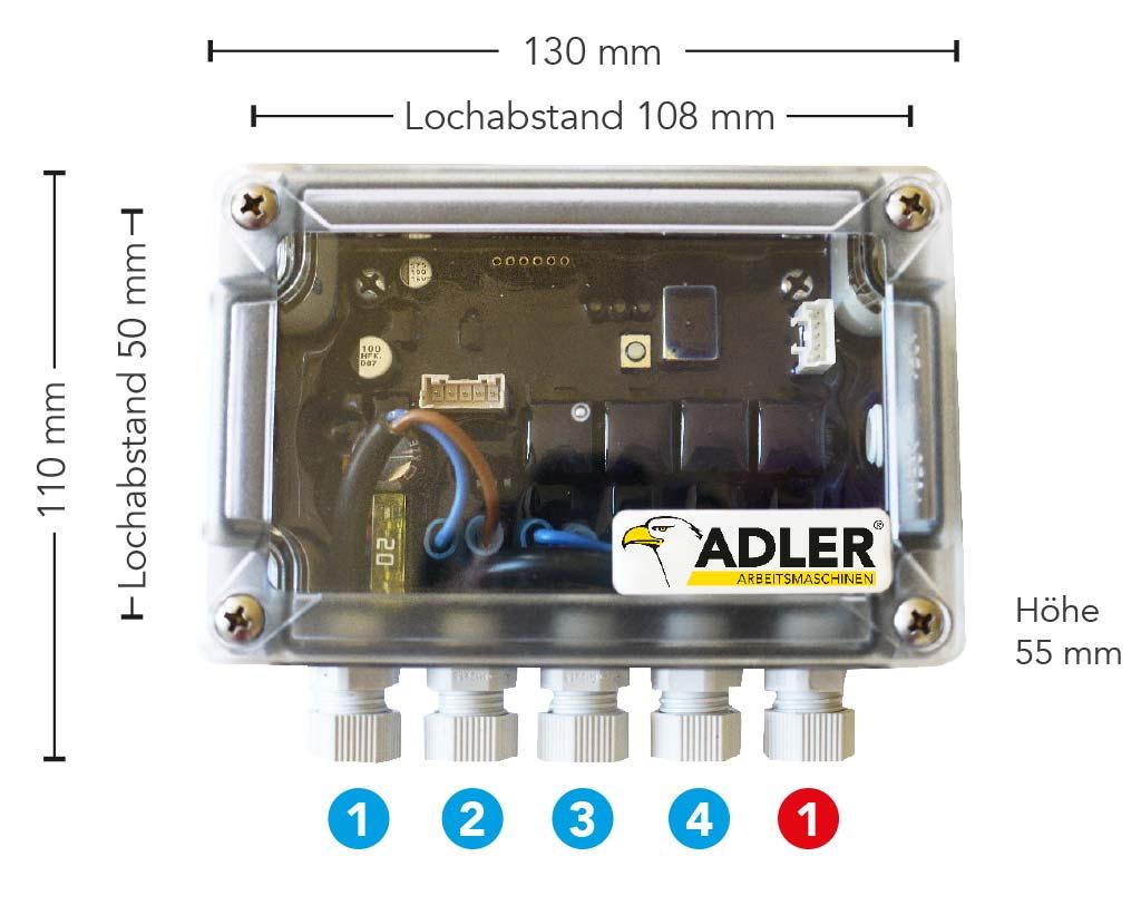 Thumbnail of Maße ADLER Smartbox.